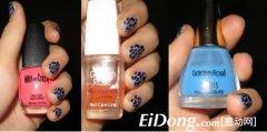 怎样画豹纹指甲彩绘 如何画豹纹指甲彩绘的步骤